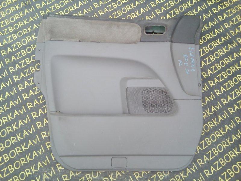 Обшивка дверей Nissan Elgrand ALE50 VG33E 1997 передняя левая