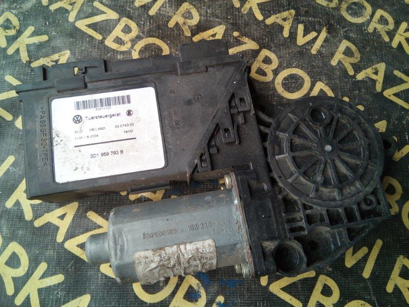 Мотор стеклоподъемника Porsche Cayenne 9PA M48.00 2003 передний правый