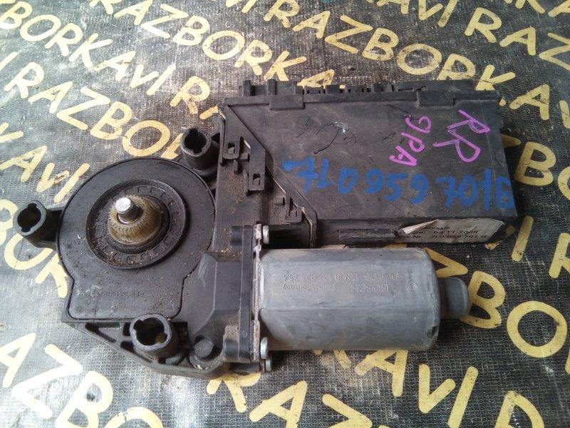 Мотор стеклоподъемника Porsche Cayenne 9PA M48.00 2003 задний правый