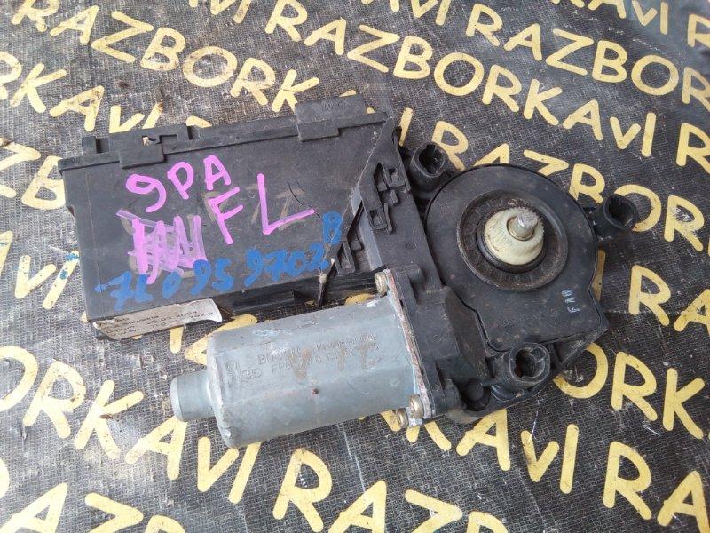 Мотор стеклоподъемника Porsche Cayenne 9PA M48.00 2003 передний левый