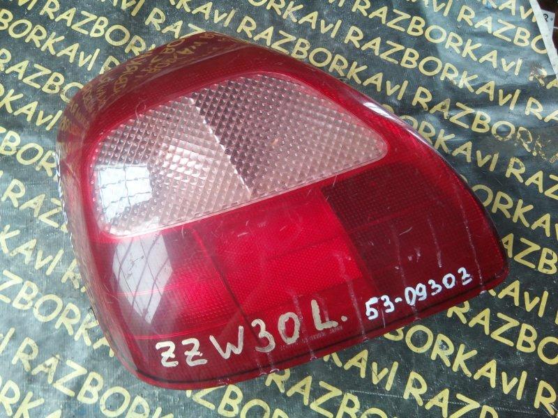 Стоп-сигнал Toyota Mr-S ZZW30 задний левый