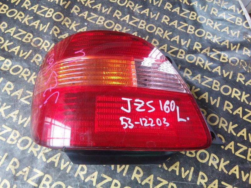 Стоп-сигнал Toyota Aristo JZS160 2JZGE 1997 левый