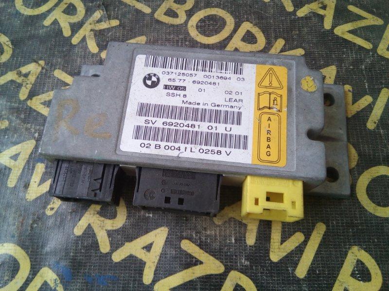 Блок управления airbag Bmw 745 E65 задний