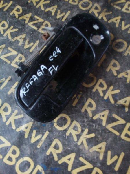 Ручка двери внешняя Honda Ascot CE4 G20A 1993 передняя левая