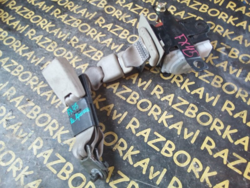 Ремень безопасности Infiniti Fx45 S50 задний левый