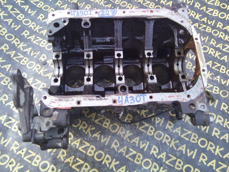 Блок цилиндров Mitsubishi Pajero Mini H56A 4A30T