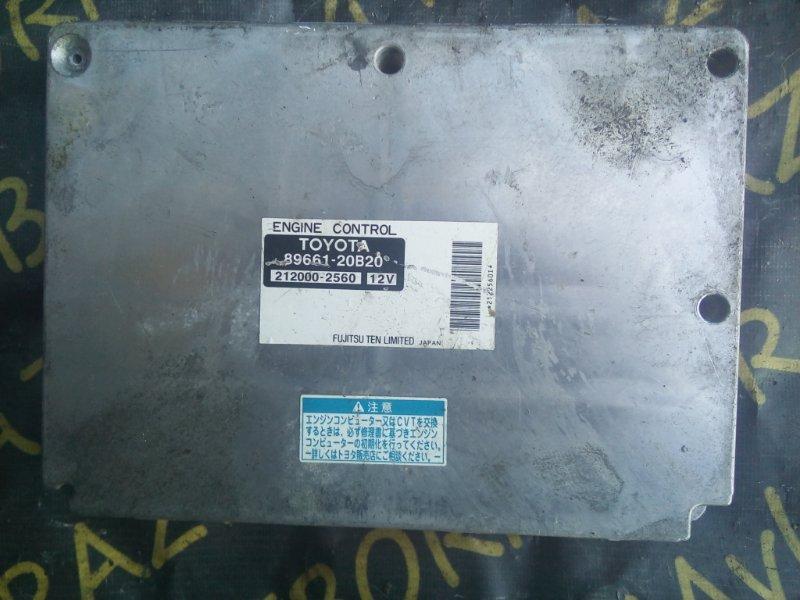 Блок управления efi Toyota Premio AZT240 1AZFSE