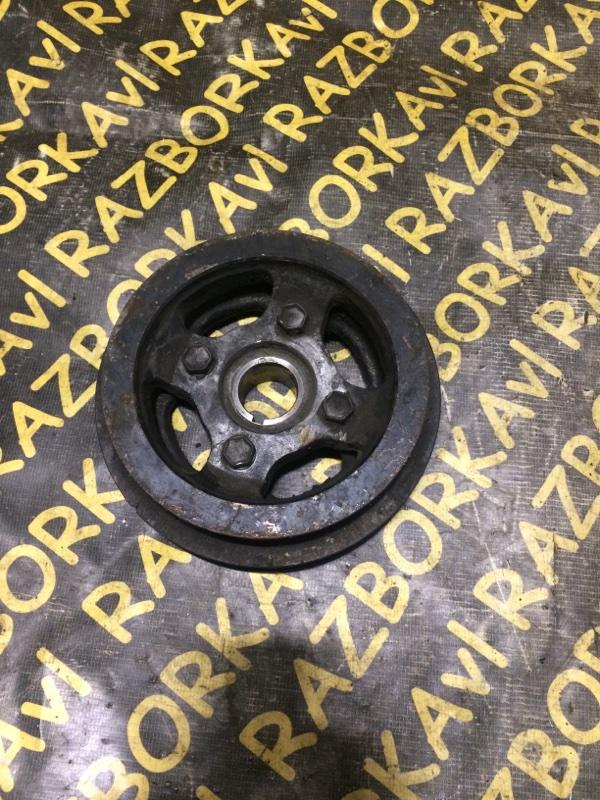 Шкив коленвала Toyota Corsa EL41 4EFE