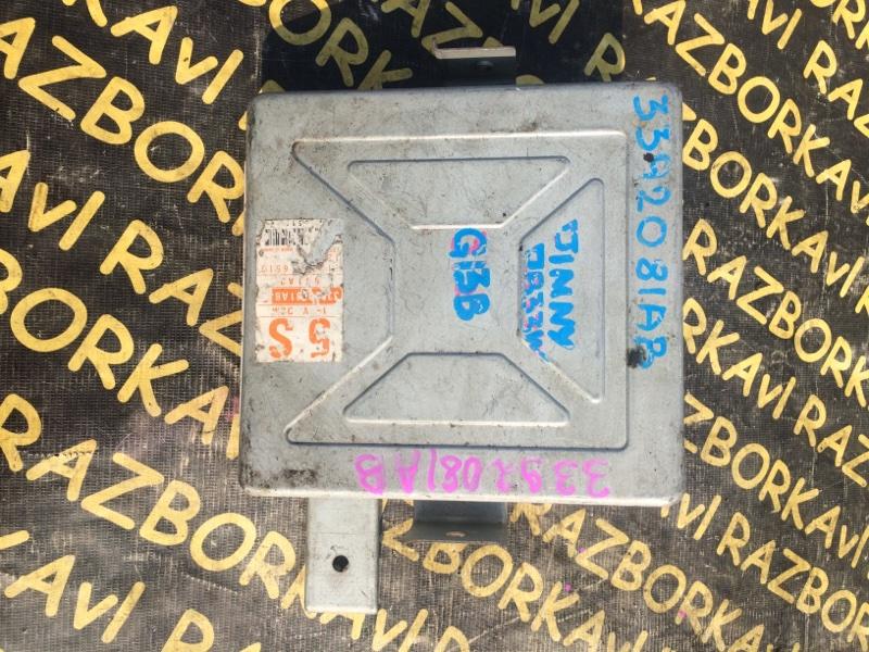 Электронный блок Suzuki Jimny JB33W G13B