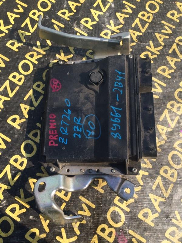 Электронный блок Toyota Premio ZRT260 2ZR