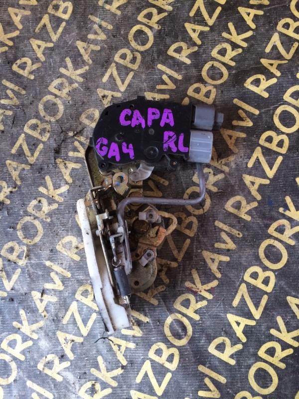 Замок двери Honda Capa GA4 задний левый