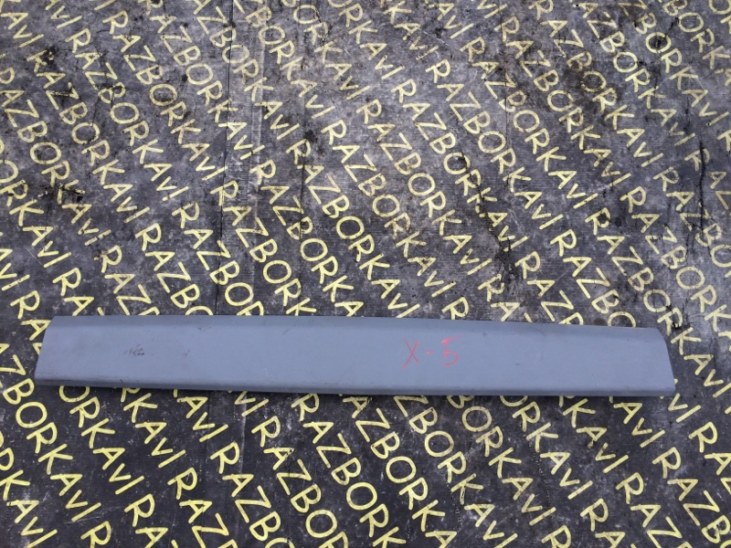 Накладка на багажник Bmw X5 E53