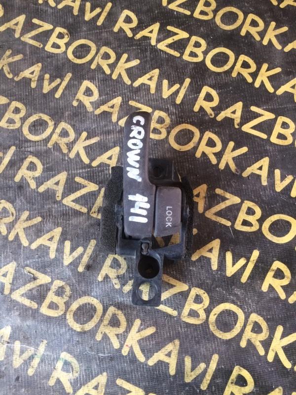 Ручка двери внутренняя Toyota Crown GS141 задняя правая