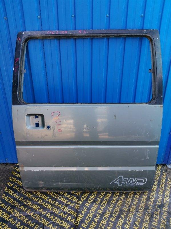 Дверь Mitsubishi Delica P25W задняя левая