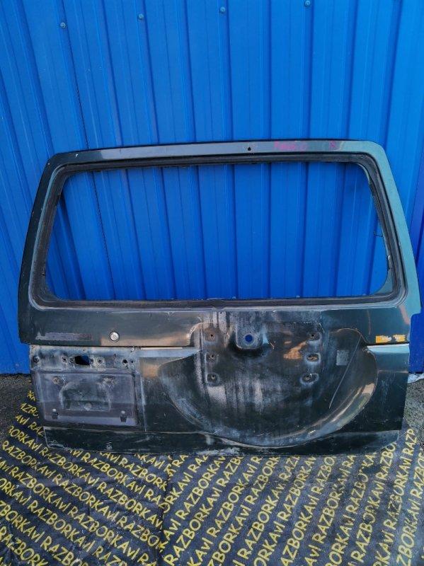 Дверь задняя Mitsubishi Pajero задняя