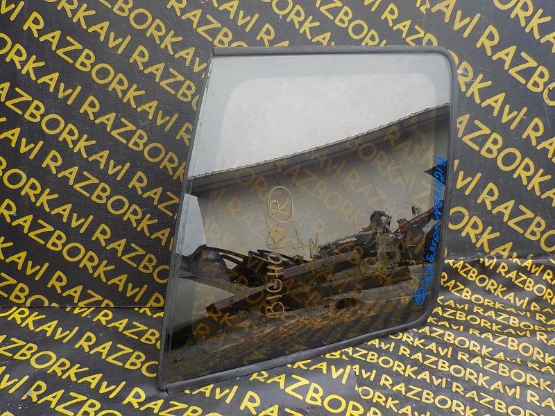 Стекло собачника Isuzu Bighorn UBS69 заднее правое