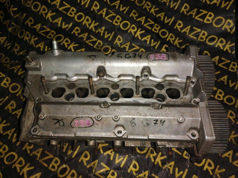 Головка блока цилиндров Mitsubishi Pajero V75W 6G74 правая