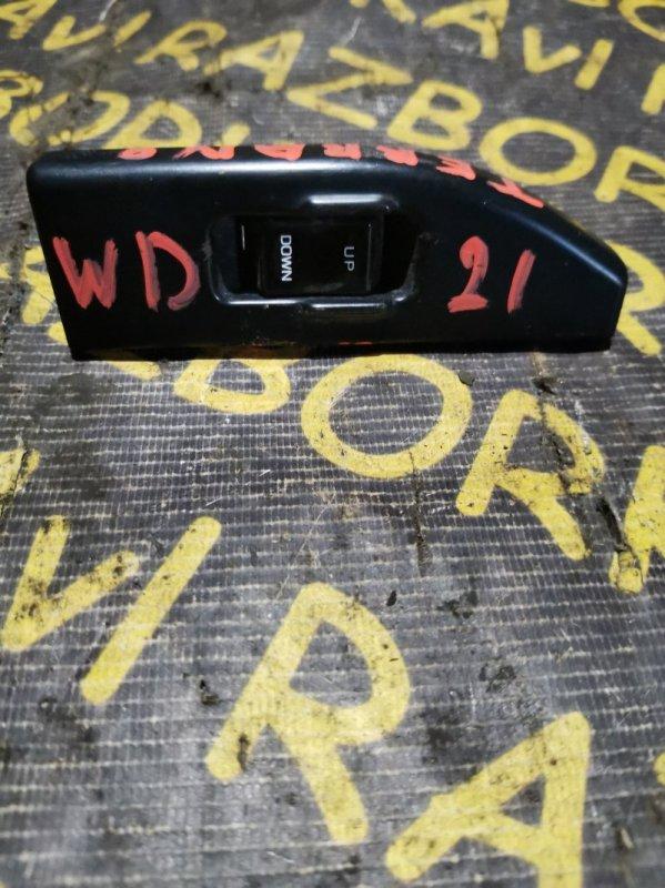 Пульт стеклоподъемника Nissan Terrano LBYD21 VG30E задний правый
