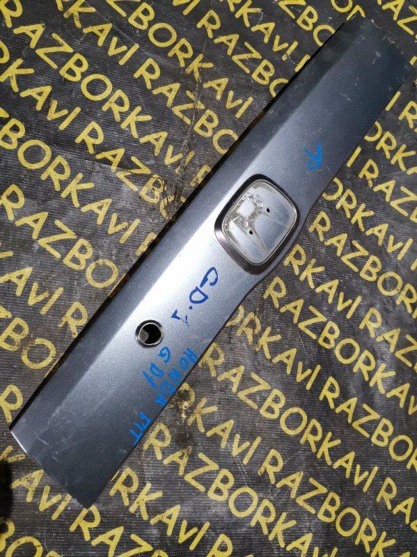 Накладка 5-й двери Honda Fit GD1