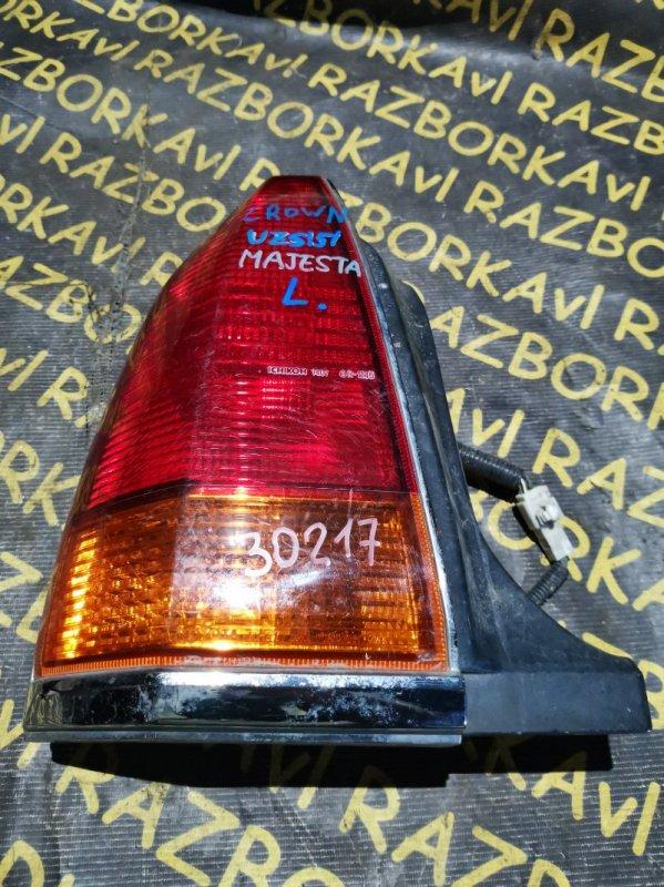 Стоп-сигнал Toyota Crown Majesta UZS151 левый