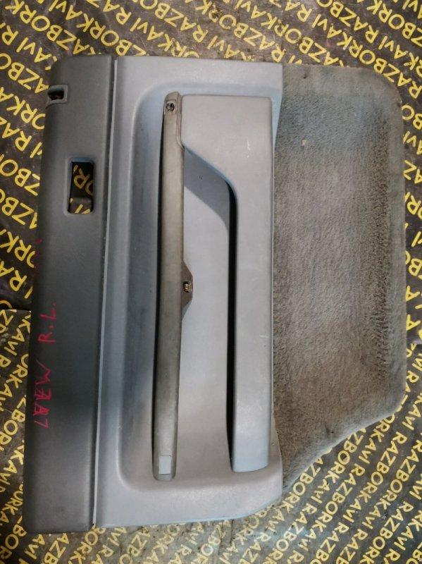 Обшивка дверей Mazda Mpv LVEW задняя левая