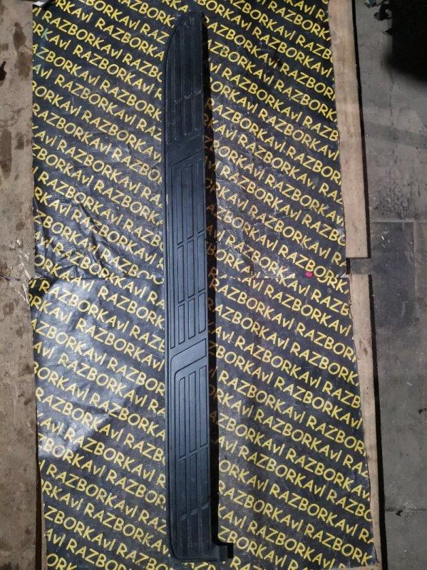 Накладка на порог Toyota Land Cruiser Prado GRJ150 левая