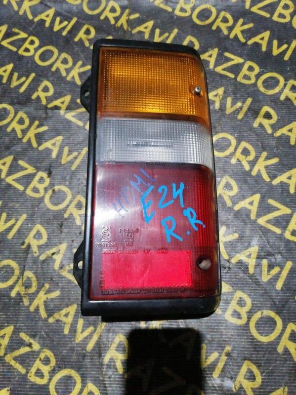 Стоп-сигнал Nissan Caravan E24 задний правый