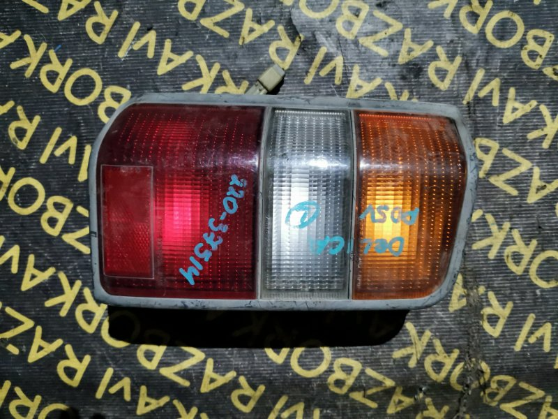 Стоп-сигнал Mitsubishi Delica P35W 4D56 левый