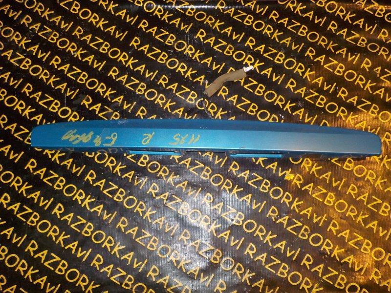 Ручка задней двери Nissan Wingroad Y12 HR15DE задняя