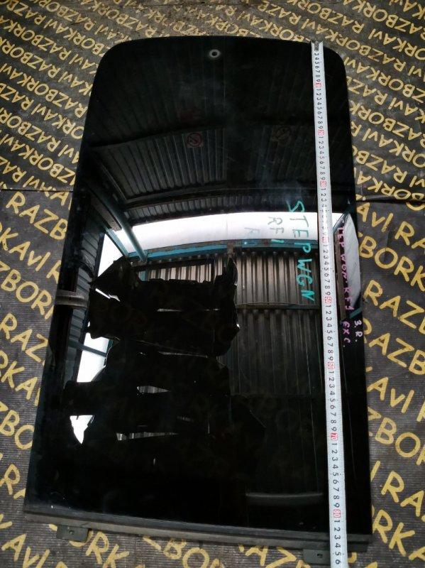 Стекло собачника Honda Stepwgn RF1 заднее правое