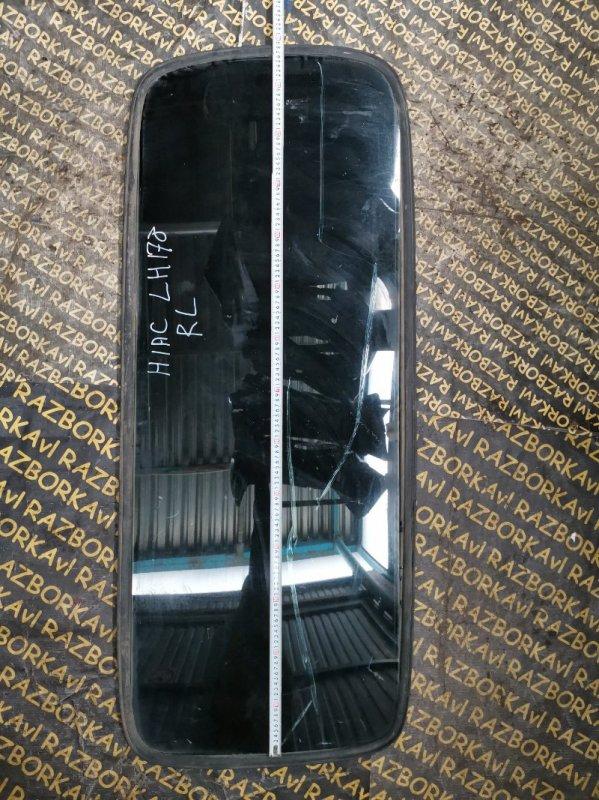 Стекло собачника Toyota Hiace LH178 заднее левое