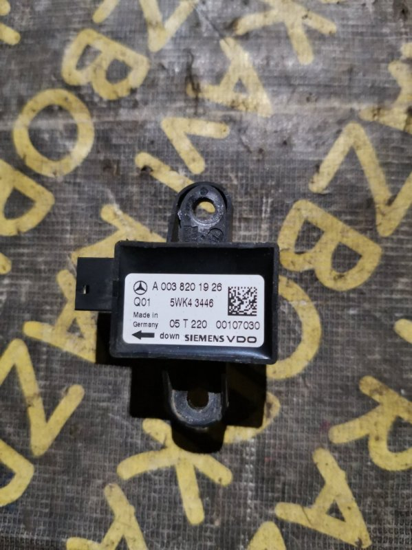 Датчик детонации Mercedes Benz S-Class W221