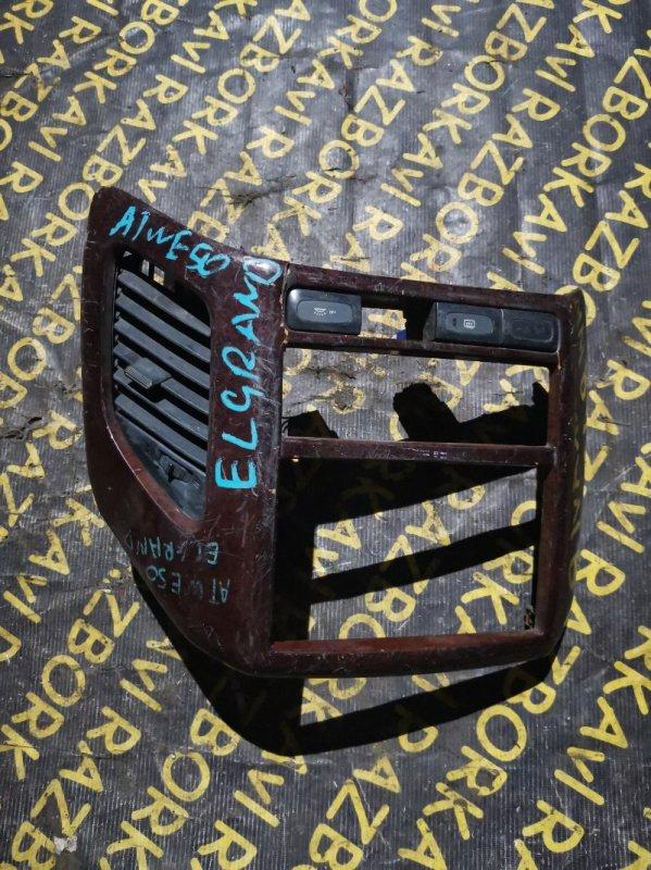 Консоль магнитофона Nissan Elgrand ATWE50