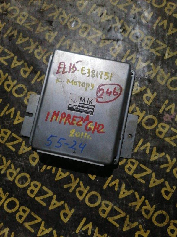 Блок управления efi Subaru Impreza GH2 EL154