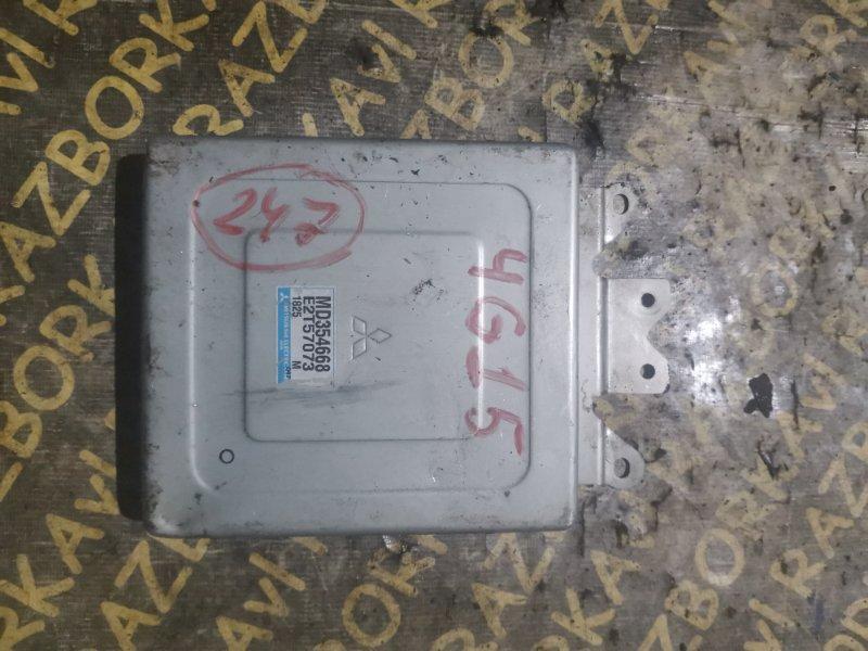 Блок управления efi Mitsubishi Libero CB2V 4G15