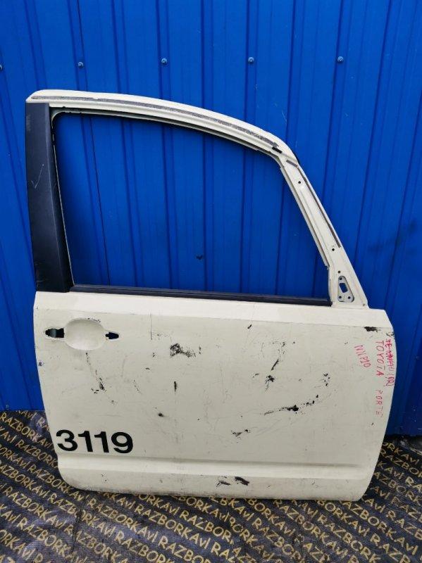Дверь Toyota Porte NNP10 передняя правая