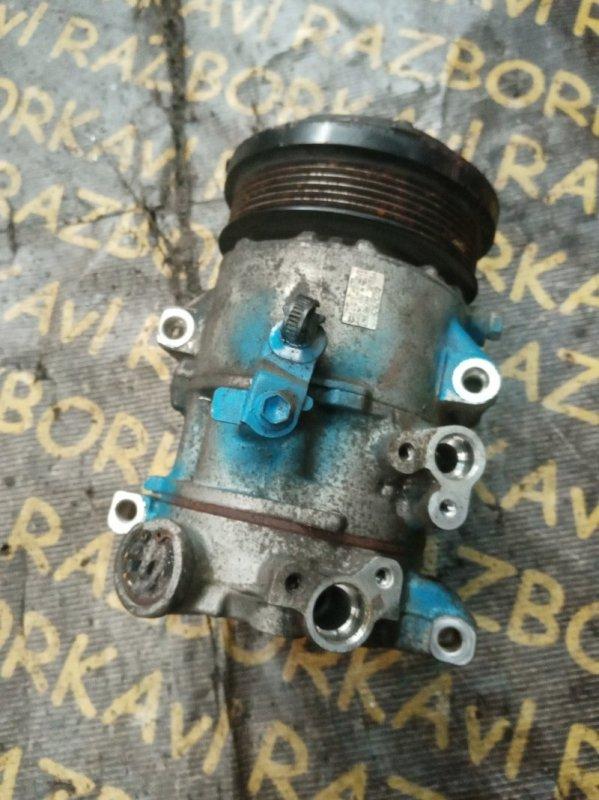 Компрессор кондиционера Toyota Voxy ZRR70 3ZRFE