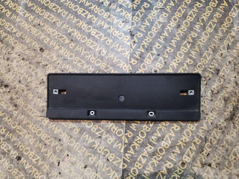 Рамка для номера Toyota Venza AGV10 задняя