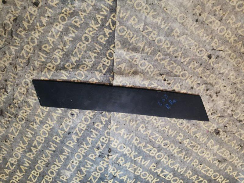 Накладка на дверь Bmw X5 E53 задняя правая