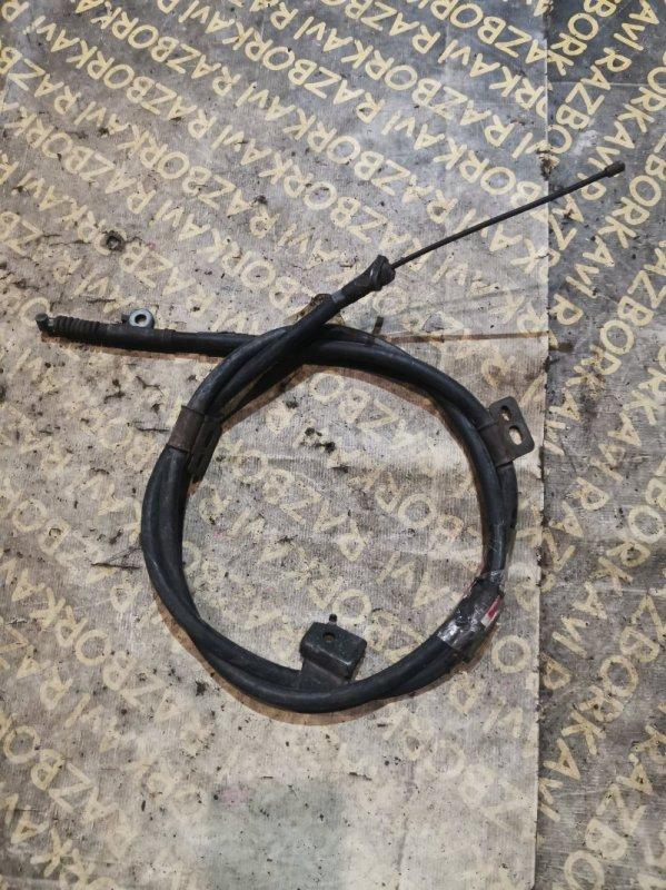 Тросик ручника Nissan Presage NU30 левый