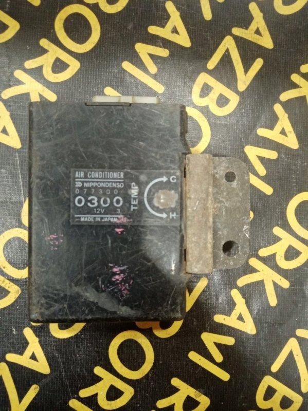 Блок управления кондиционером Toyota Lite Ace CM65 2C 1985
