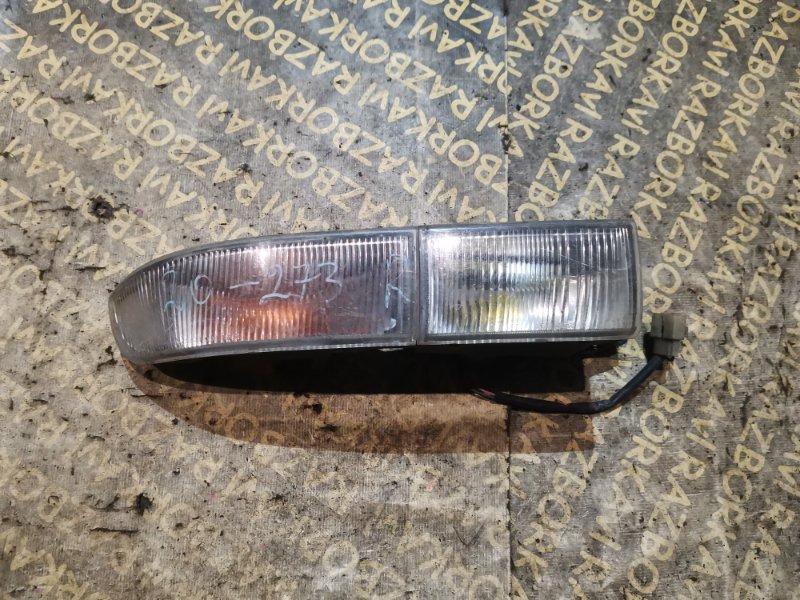 Повторитель бамперный Toyota Carina AT170 правый