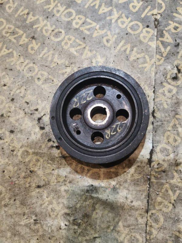 Шкив коленвала Toyota Corolla Fielder ZRE142 2ZRFE