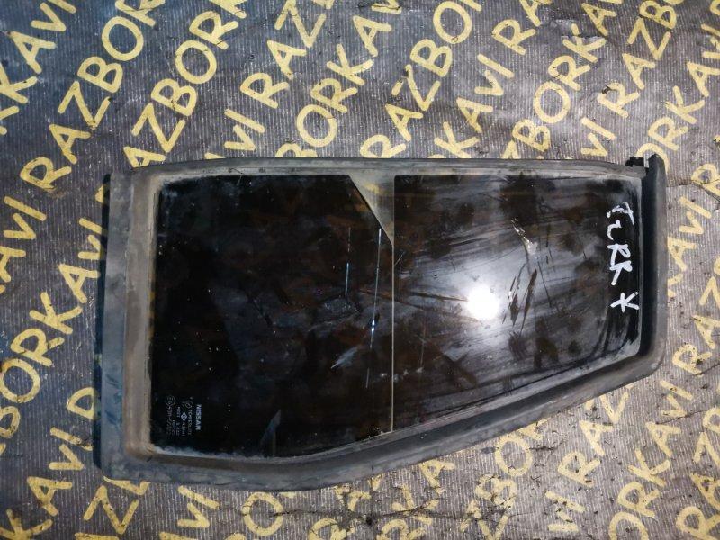 Форточка двери Nissan Terrano WBYD21 задняя правая
