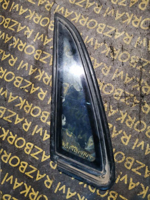 Форточка кузова Mitsubishi Galant E32A задняя левая