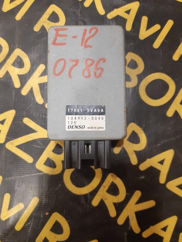 Электронный блок Nissan Note HR12DE