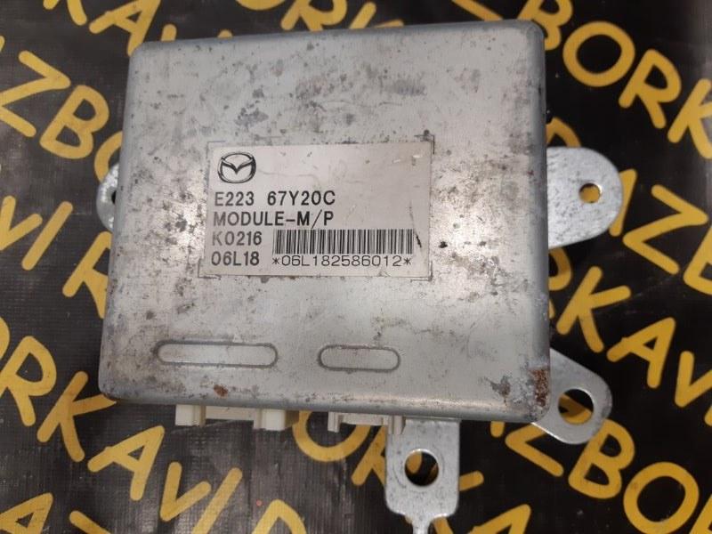Электронный блок Mazda Cx-7 ER3P