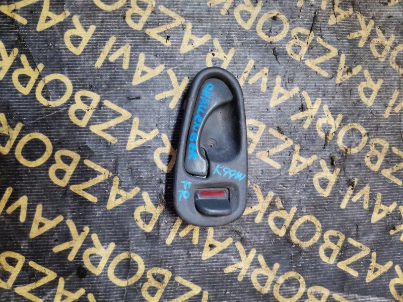 Ручка двери внутренняя Mitsubishi Challenger K96W передняя правая