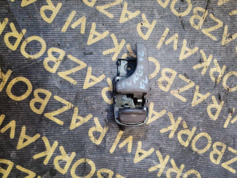Ручка двери внутренняя Nissan Laurel EC33 CA18I передняя левая