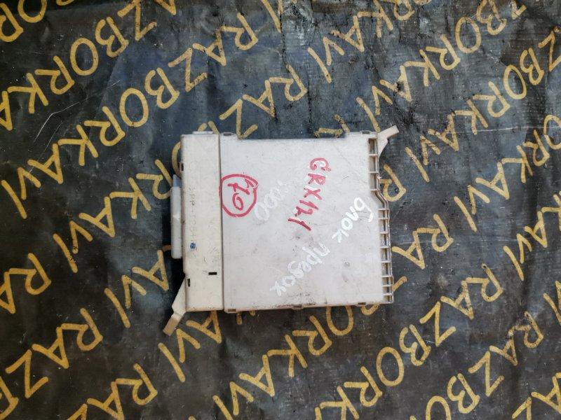 Блок предохранителей Toyota Mark X GRX120 4GRFSE